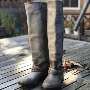 dec768690eb Steve Madden tall grey boots, Sz. 7.5